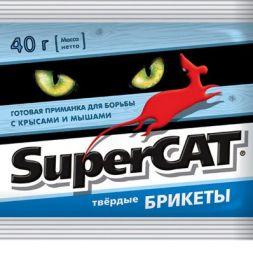 """""""Super-Cat"""" твердые брикеты. Отрава для крыс и мышей."""